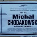 Obituary of Michał Chodakowski in Sanok 1